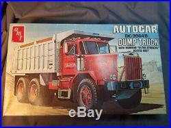 AMT #817 Autocar DC 9964B Dump Truck. Complete. 1/25th scale