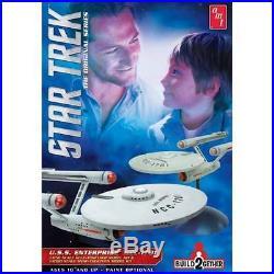 AMT #913 Star Trek USS Enterprise NCC-1701 Space Plastic Model 2 COMPLETE KITS