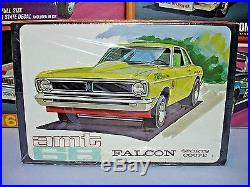 Amt Annual 1968 Ford Falcon Hardtop #5128-200 Mpc 68 1/25 Factory Sealed Kit