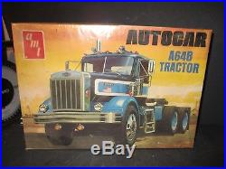 AMT AUTOCAR A64B TRACTOR T526 Model Kit, 125 Scale NEW In Sealed Box X397 PF