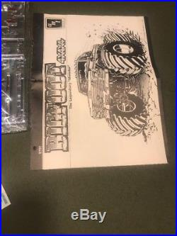AMT BIGFOOT 4x4x4 THE ORIGINAL MOSTER TRUCK 1/25 J&E HOBBY