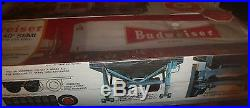 Amt Big Rig Set Budweiser Peterbilt Pacemaker/trailer Model Car Mountain Fs Stop