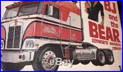 AMT BJ And The Bear Kenworth Aerodyne Cabover 1/25 Model Kit Truck Vintage