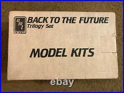 AMT Back to the Future Trilogy Set Model Kits Vintage very rare-AB