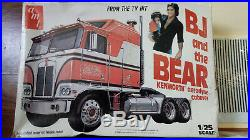 AMT Bj and the Bear Model Truck Kit with Reefer trailer