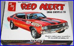 AMT Bob Hamilton's Red Alert Drag Chevelle SS 125