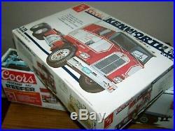 AMT COORS 5014 & 5203 KENWORTH K-123 (open box) & 40' FRUEHAUF NIB factory seal