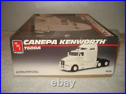AMT Canepa Kenworth T600A Semi Truck Cab 1/25 scale open Box vintage 1990