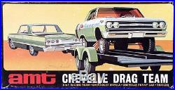 AMT Chevelle Drag Team 1963 Impala, 1965 Chevelle A/FX Funny Car, and Trailer