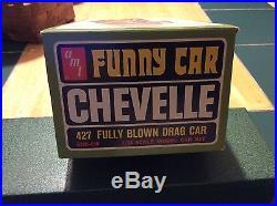 AMT Chevelle Super Boss Funny Car Original Kit