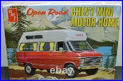 AMT Chevy Van Open Road Mini Motor Home Factory Sealed Inside Stock or Custom