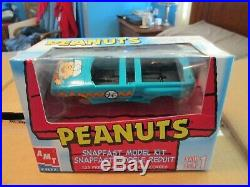 AMT ERTL 125 Scale Peanuts Charlie Brown Snoopy Model Kits set 6