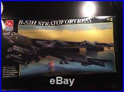 AMT/ERTL 172 Boeing B-52H Stratofortress Plastic Model Kit #8623-10DO 1993 NEW