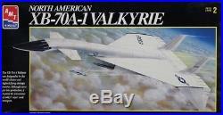 AMT ERTL 172 North American XB-70A-1 Valkyrie Plastic Model Kit #8907U