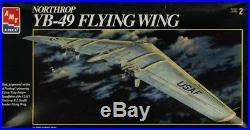 AMT ERTL 172 Northrop YB-49 Flying Wing Plastic Aircraft Model Kit #8619U