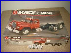 AMT ERTL #6129 Mack R Model Semi Cab MIB Factory Sealed 1/25 Scale 1991 Model