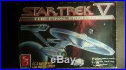 AMT ERTL 6876 Star Trek V The Final Frontier 22 USS Enterprise & Shuttlecraft