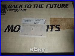 AMT ERTL BACK TO THE FUTURE TRILOGY 1/25 Model Car Mountain 3 DELOREAN KITS