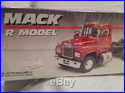 AMT ERTL MACK R MODEL KIT 6129 NEW IN SEALED BOX 125 SCALE, 350 PARTS
