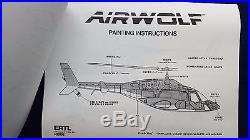 AMT/ERTL Scale Model Kit Airwolf Helicopter (FACTORY SEALED) FREE SHIPPING