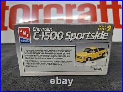 AMT Ertl 1990 Silverado RCSB Sportside Model Kit Sealed BNIB VINTAGE 1/25 SCALE