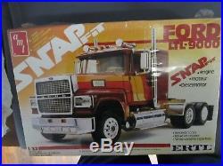 AMT/Ertl 6787 Ford LTL-9000 snap fit kit. Sealed. 1/32nd scale