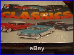 AMT/Ertl Chevrolet Classics 6 Models Kits