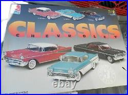 AMT/Ertl Classic Chevrolet Model Kits 3 Kits In One