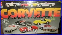 AMT/Ertl Corvette Evolution 5 Complete Plastic Model Kits #8092