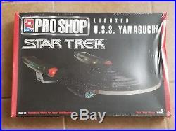 AMT Ertl Pro Shop Star Trek Lighted U. S. S. Yamaguchi Model Kit 30038 11400