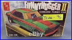 AMT FUNNY-HUGGER 2 II T384 CAMARO FUNNY VINTAGE 1/25 Model Car Mountain