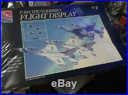 AMT F-16A Thunderbird Flight Display 1/72 scale model kit (4 kits)