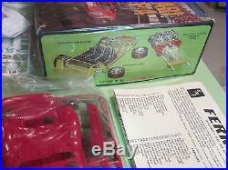 AMT Ferrari P4 & Porsche 907 Vintage Road Race Double Kit Heller Kit # T419 MIB