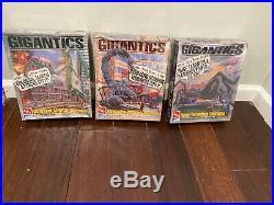 AMT Gigantics Model Kits. Lot of 3. Mantis, Tarantula & Scorpion. Factory Se