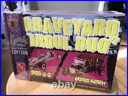 AMT Graveyard Ghoul Duo 125 Scale Plastic Model Car Kits 1017