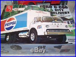 AMT & Italeri Trucks, Race Car Hauler, City Delivery & Wrecker Lot51