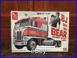 AMT Kenworth BJ And The Bear 1/25 Aerodyne Cabover Truck 1980 Model Kit