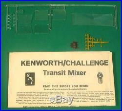 AMT Kenworth Challenge TRANSIT MIXER Cement Truck 1/25 Model T559 1/25