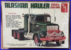 AMT Kenworth Conventional Big Rig Plastic Truck Model # T511 Alaskan Hauler