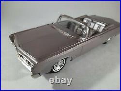 AMT Light Purple 1964 Chrysler Imperial Convertible Built Model Kit Car