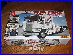 AMT MATCHBOX Tyrone Malones Papa Truck Kenworth Aerodyne Complete With Box
