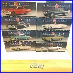 AMT Masterpiece Collection 8 promo/kit cars, MIB, Ford, Edsel, Buick, Camaro