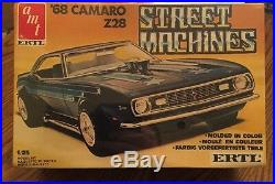 AMT/Matchbox 125 68 Camaro Z28 Street Machines Plastic Model Kit #6530