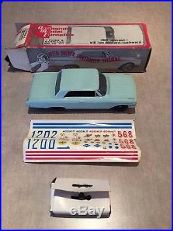 AMT Model Turnpike 1/25 scale Ford Galaxie XL slot car 360 spin out aurora afx