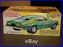 AMT New CAMARO for'74 Sport Coupe Model Kit Race Car Nascar NEW