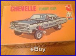 AMT OLD Vintage Chevelle Funny Car (RARE) T150