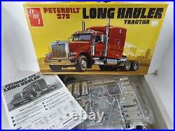 AMT Peterbilt 378 Long Hauler Tractor Model Kit 1/24