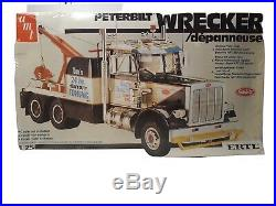 AMT Peterbilt Wrecker Tow Truck 1/25 6667 (Vintage) (FACTORY SEALED) FREE SHIP