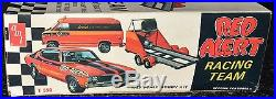 AMT Red Alert Racing Team Chevelle SS Van & Trailer Drag team