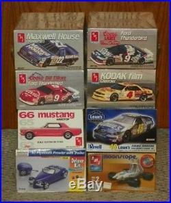AMT & Revell Model Car Kit Collection / Lot 8 Model Car Kit Lot New in Box